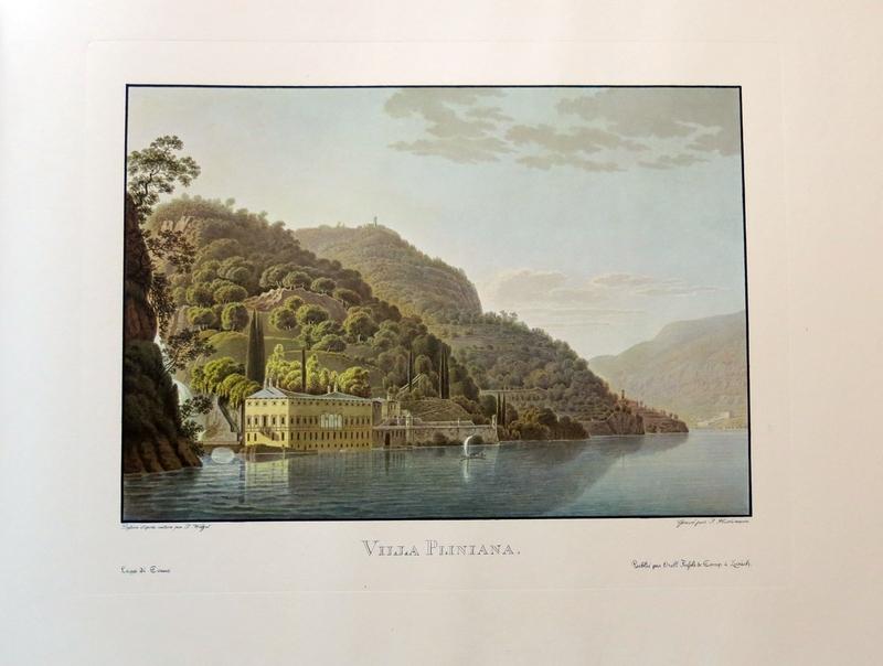 Il lago di Como. Voyage pittoresque au lac de Come.